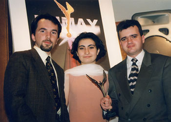 Baku Pages team 1998 at Humay
